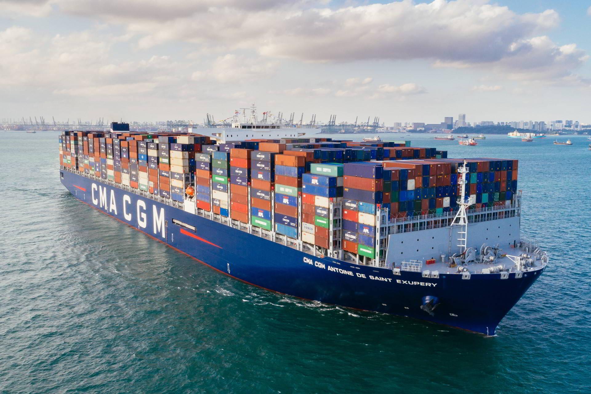 CMA CGM | Freight Shipping Companies | Full Steam Ahead!