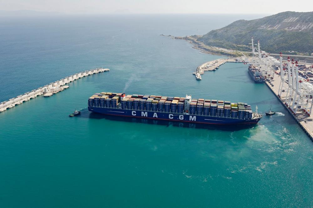 navire Tanger cma cgm