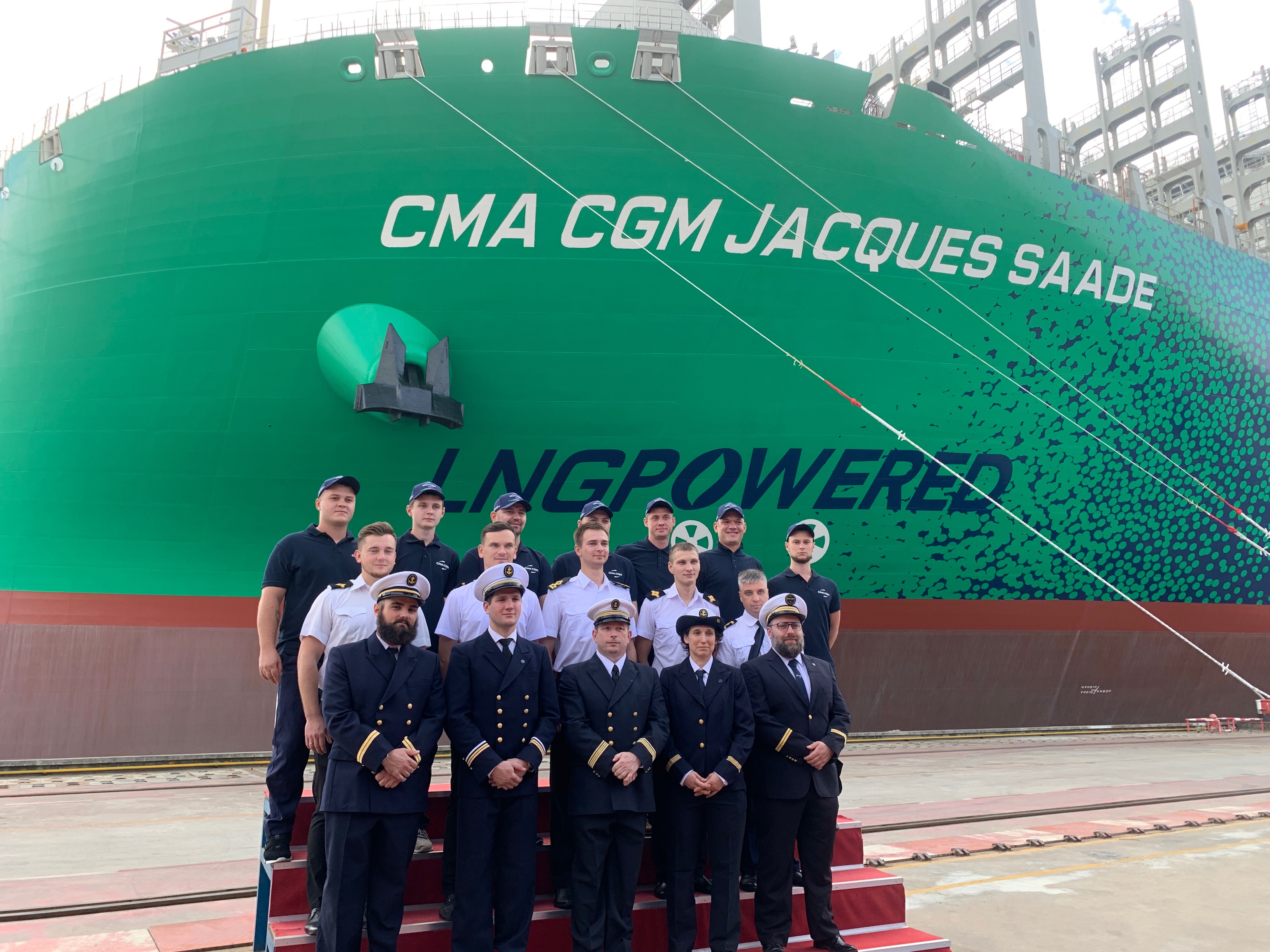 Equipage CMA CGM JACQUES SAADE LNG