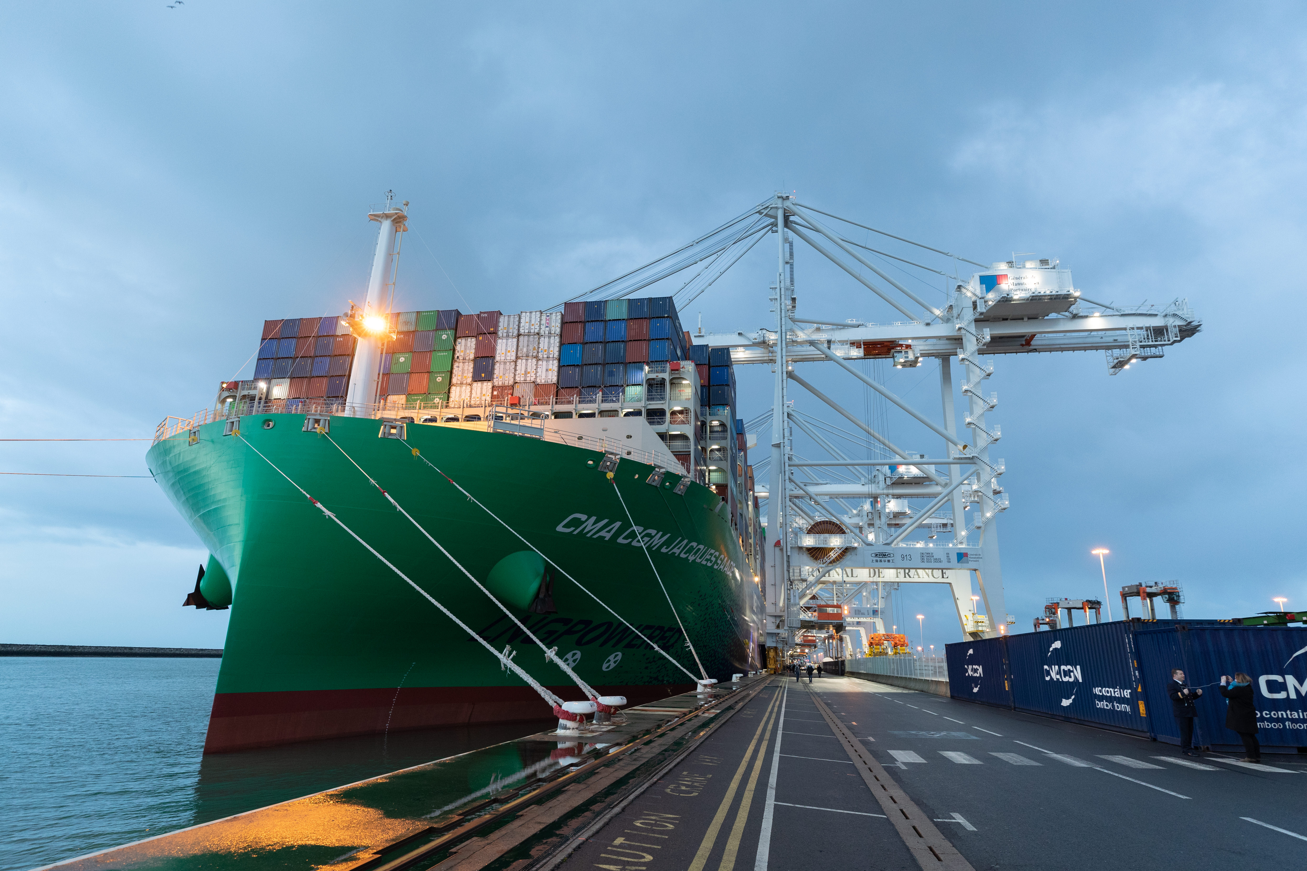 CMA CGM JACQUES SAADE HAVRE NEWS ESCALE